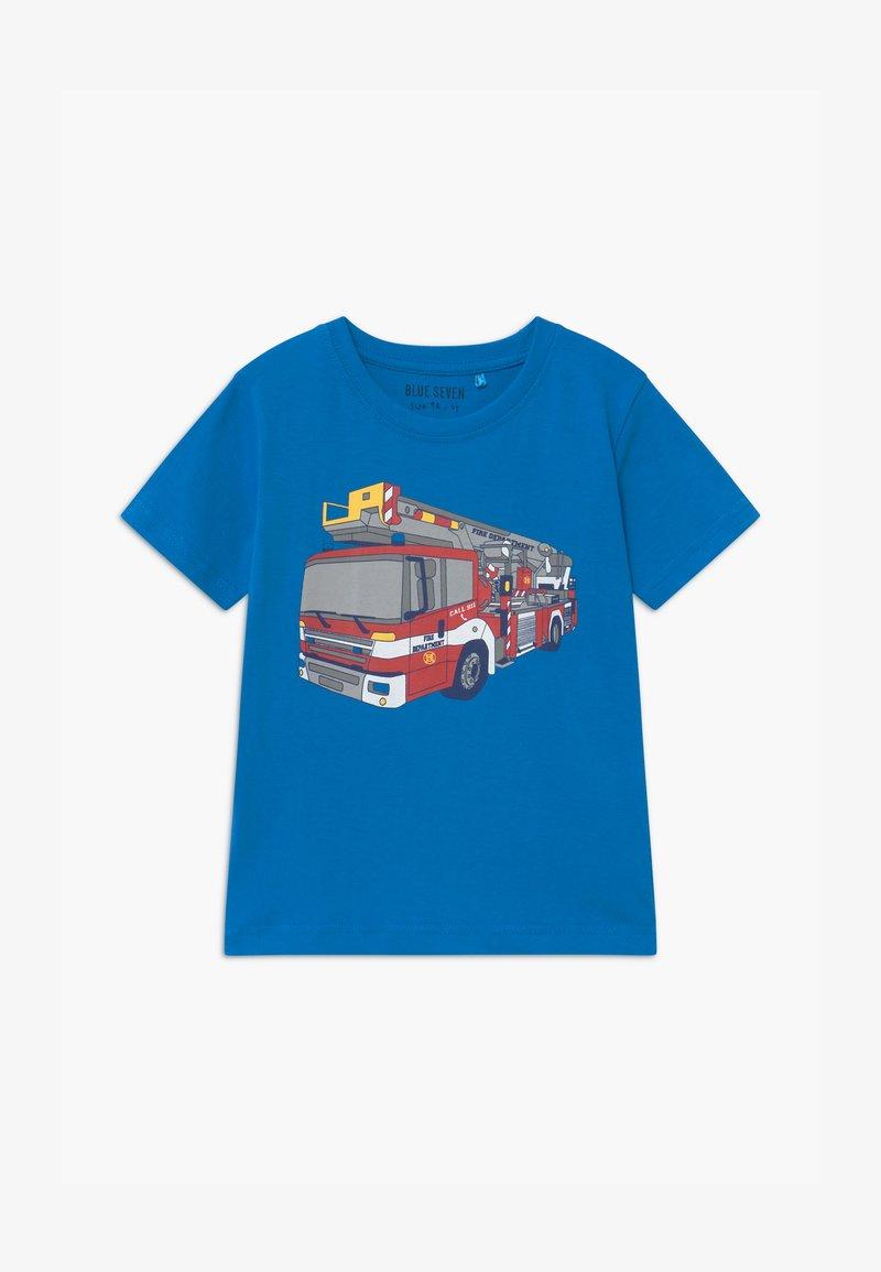 Blue Seven - SMALL BOYS - Print T-shirt - cyan