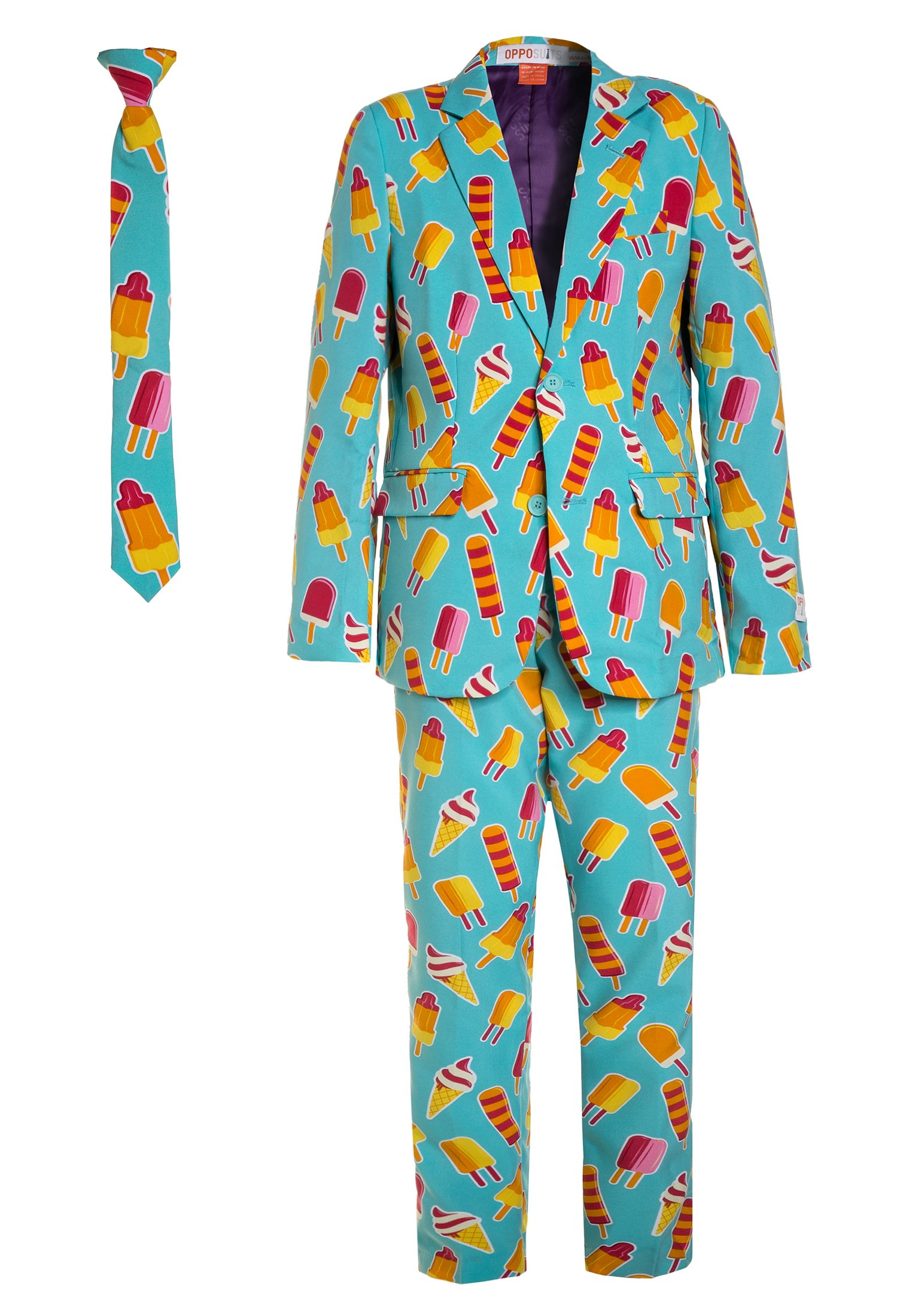 Kinder TEEN BOYS COOL CONES SET - Anzug