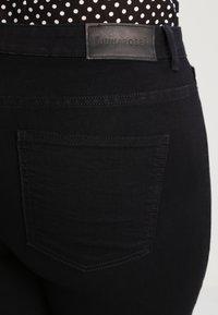 JUNAROSE - by VERO MODA - JRQUEEN - Jeans Skinny Fit - black - 4