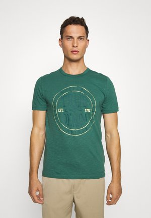 ALEX - Print T-shirt - mallard green