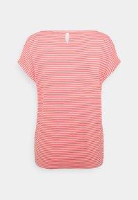 TOM TAILOR - STRUCTURE STRIPE - Print T-shirt - peach - 1