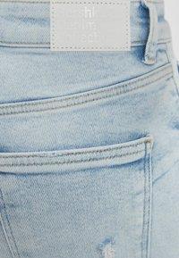 Bershka - SUPER HIGH WAIST - Skinny džíny - blue denim - 5