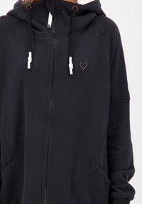 alife & kickin - MARIAAK  - Zip-up sweatshirt - moonless - 4