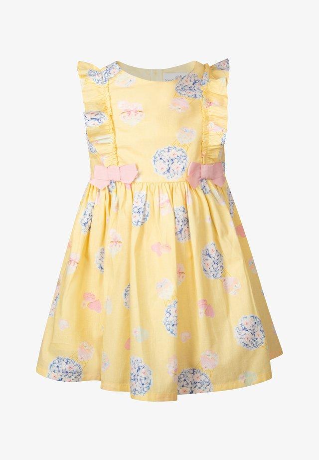 Cocktailklänning - gelb