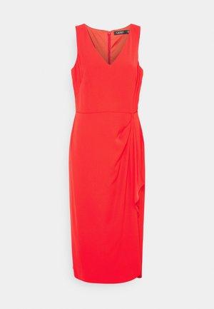 SAVANNAH SLEEVELESS DAY DRESS - Day dress - bright hibiscus