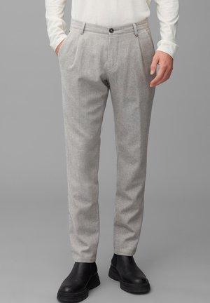 Chinos - grey melange