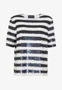 Sportmax Code - CLIPPER - T-shirt z nadrukiem - ultramarine - 4