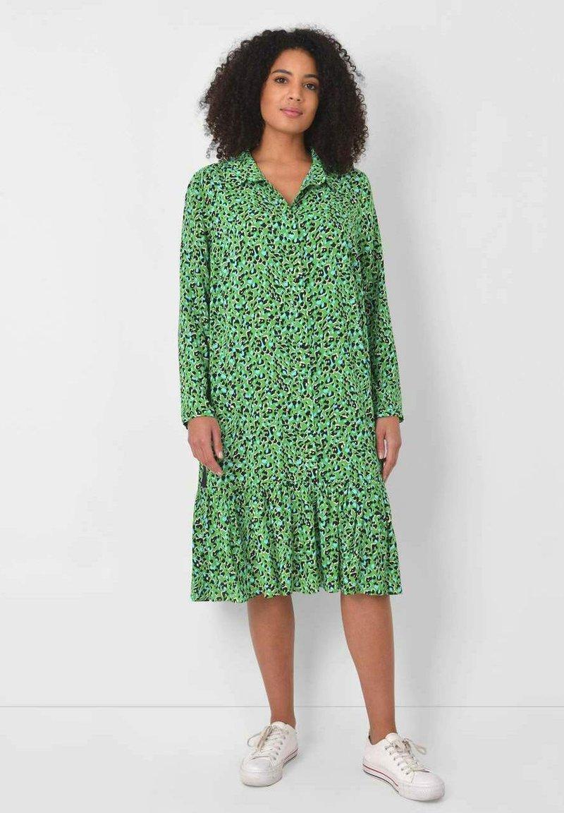 Live Unlimited London - Shirt dress - green