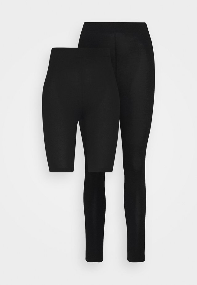 SET - Leggings - black