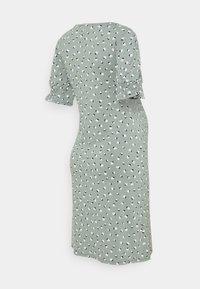 Esprit Maternity - DRESS NURSING - Jersey dress - grey moss - 1