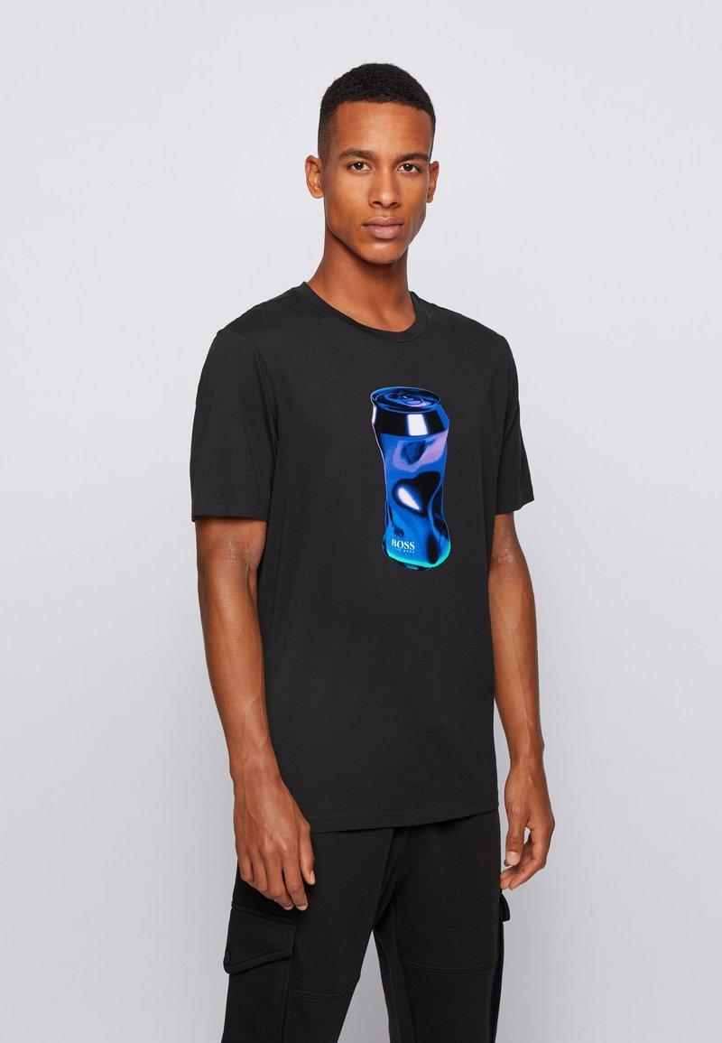 BOSS - Print T-shirt - black