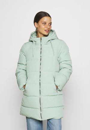 ONLDOLLY LONG PUFFER - Winter coat - frosted green