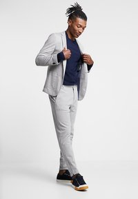 Gabba - PISA PANT - Chinos - light grey melange - 1