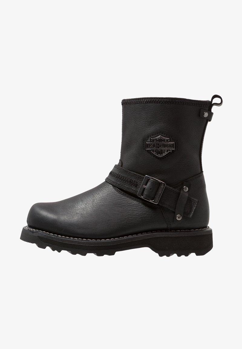 Harley Davidson - RICHTON - Cowboy/biker ankle boot - black