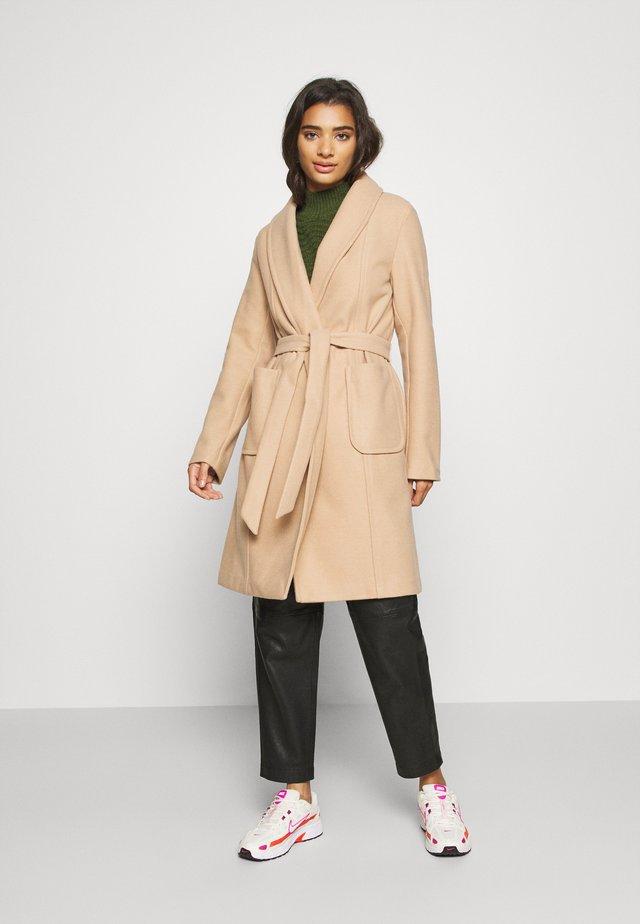 VITULIP COAT - Cappotto classico - soft camel