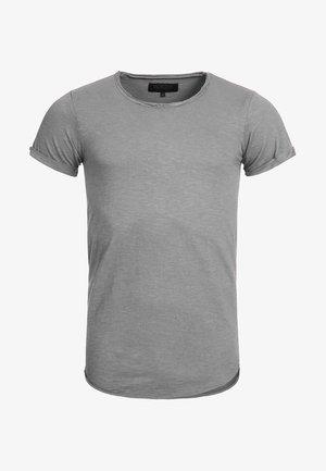 WILBUR - Print T-shirt - grau