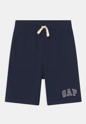 BOY LOGO  - Tracksuit bottoms - blue galaxy