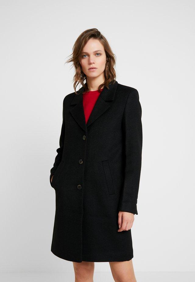 SLFSASJA COAT - Mantel - black