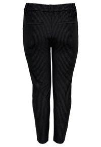 ONLY Carmakoma - CARGOLDTRASH - Kalhoty - black - 1