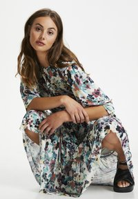 Soaked in Luxury - Day dress - vivid floral print white - 3