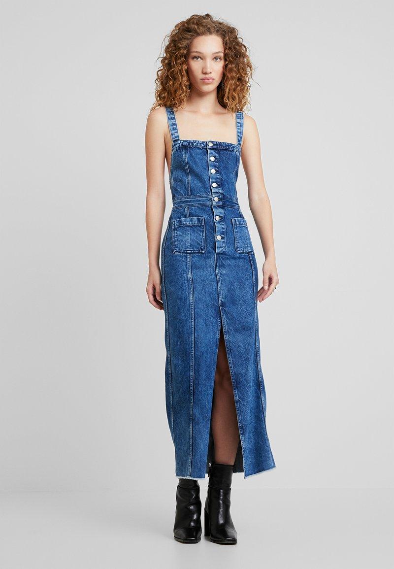 Pepe Jeans - DUA LIPA X PEPE JEANS - Vestido vaquero - blue denim