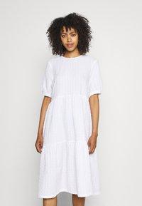 Monki - Day dress - white light unique - 0