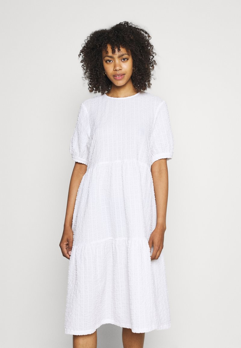 Monki - Day dress - white light unique