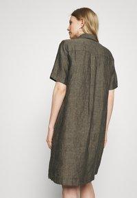 Opus - WELIKA - Shirt dress - black - 2