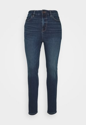 CURVY SUPER HIRISE JEGGING - Džíny Slim Fit - midnight blue