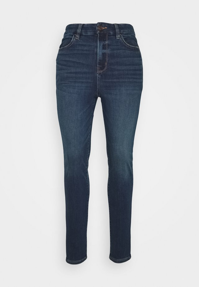 CURVY SUPER HIRISE JEGGING - Jeans Slim Fit - midnight blue
