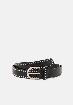 PCJOLLO BELT - Belt - black/silver-coloured