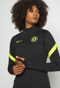 Nike Performance - CHELSEA LONDON  - Club wear - black/opti yellow - 3