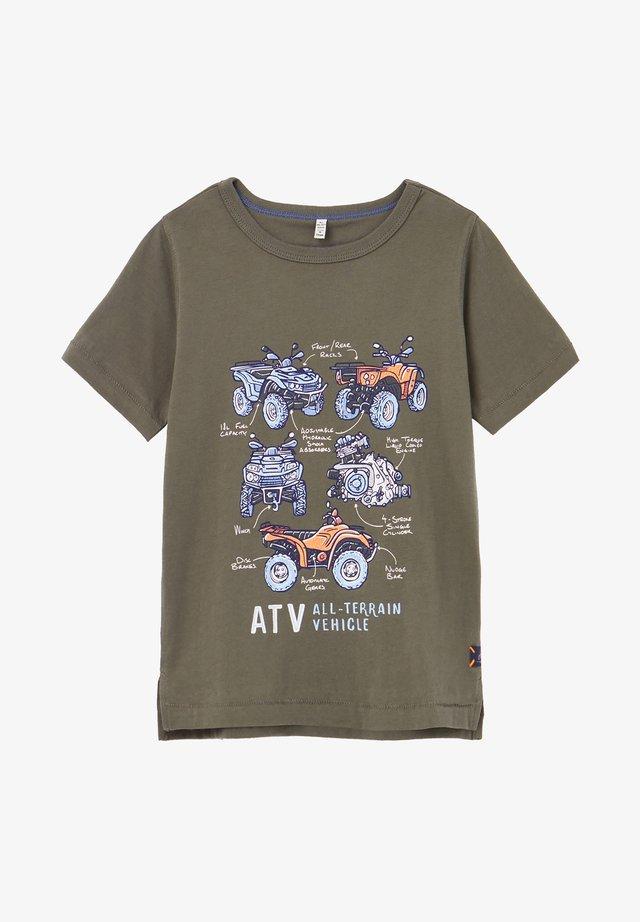 CASTAWAY - Camiseta estampada - tief camouflage