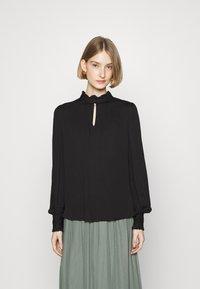 Bruuns Bazaar - BAUMA TINIA SHIRT - Blouse - black - 0