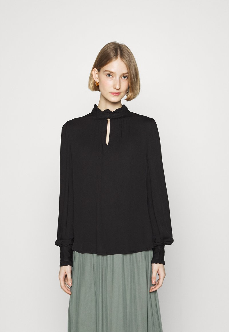 Bruuns Bazaar - BAUMA TINIA SHIRT - Blouse - black