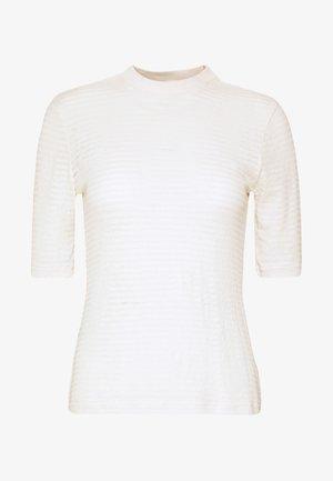 JAMIA - Print T-shirt - weiß/creme/beige