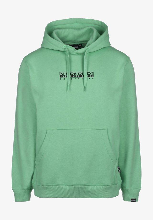 Hoodie - green dusty