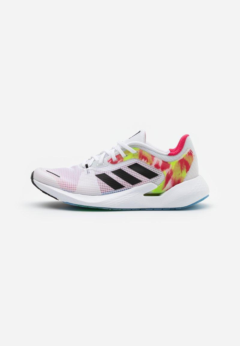 adidas Performance - ALPHATORSION - Zapatillas de running neutras - footwear white/core black/power pink