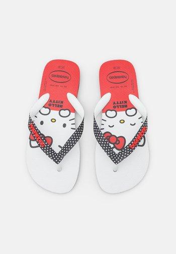 HAV. TOP HELLO KITTY - Pool shoes - black