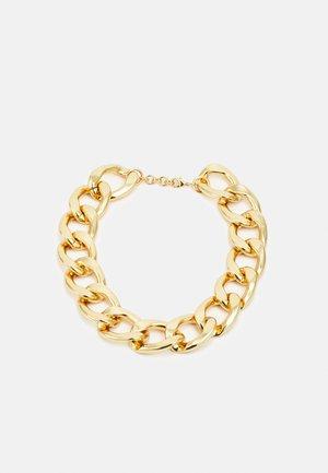 COLLIER AVEC ANNEAUX RONDS - Necklace - gold-coloured