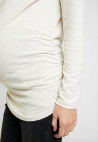 GAP Maternity - Stickad tröja - oyster - 5