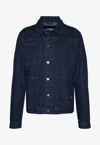 DRAKE WORKET JACKET - Denim jacket - indigo blue