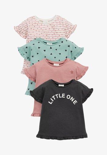 4 pack - Print T-shirt - orange