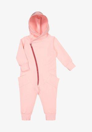Jumpsuit - romance pink cherry bomb