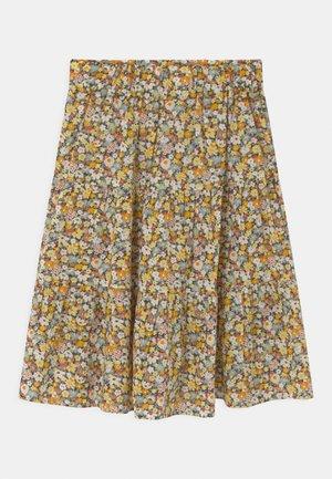 NKFHISSINE MIDI  - Áčková sukně - persimmon