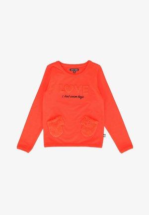 SMALL GIRLS - Sweatshirt - orange