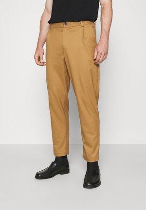 SMOKE - Kalhoty - khaki