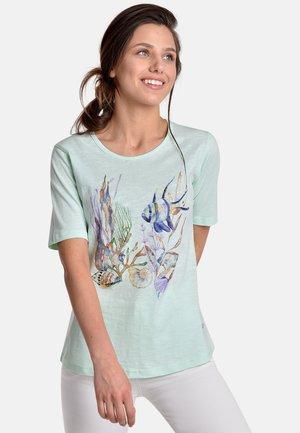FISH APPLIC - Camiseta estampada - mint