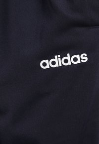 adidas Performance - PLAIN TRIC SET - Tepláková souprava - dark blue/white - 6