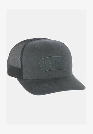 CURVED TRUCKER - Cap - charcoal